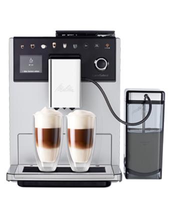 LatteSelect silber/schwarz